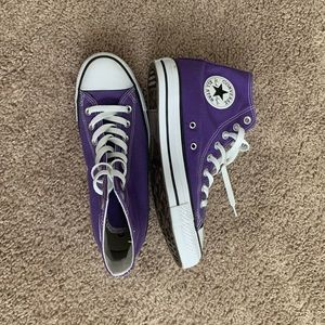 Perfect Purple Converse Hi Top 8.5